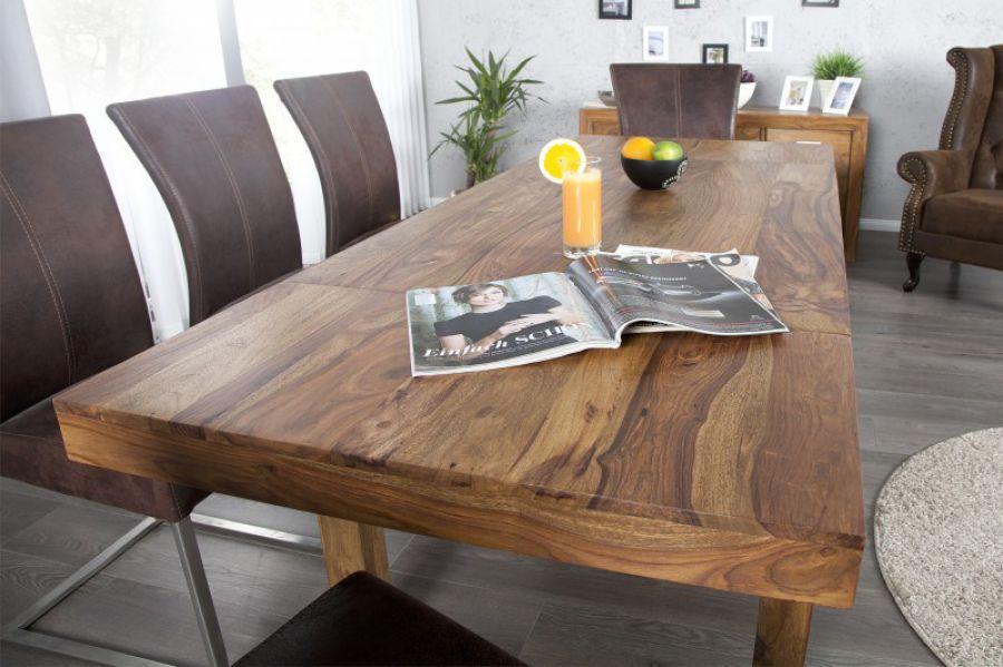 Stół Lagos Drewniany Rozkładany 120 200 Cm